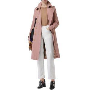 100% Authentic NWT Burberry Kensington Trench Coat